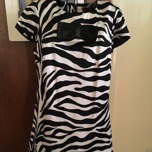 Betsey Johnson Zebra Dress size 8